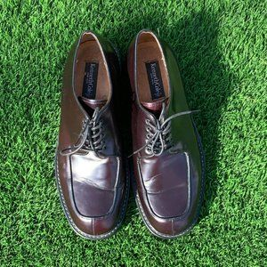 Kenneth Cole NY Men's Burgundy Brown Dress Shoes